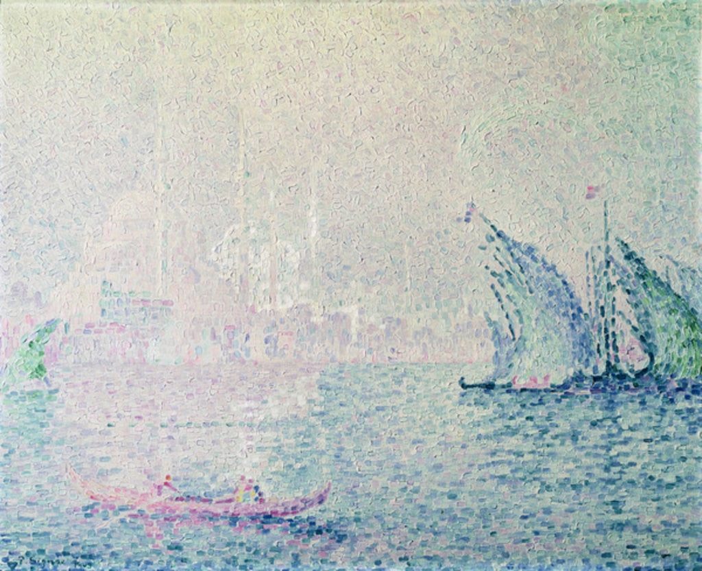 Detail of Constantinople by Paul Signac