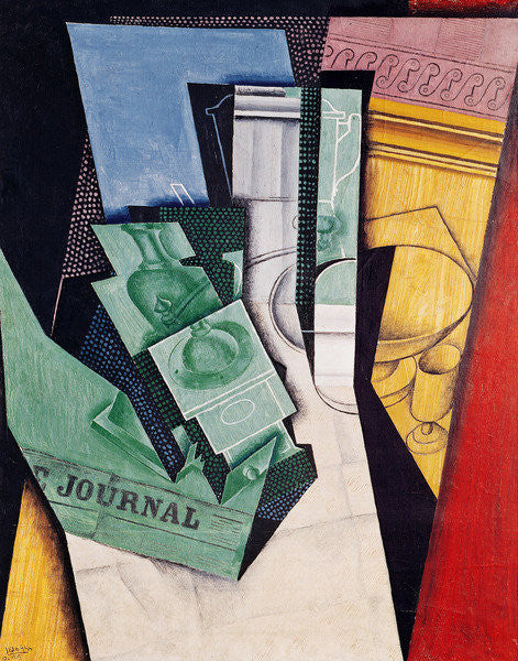 Detail of Breakfast by Juan Gris