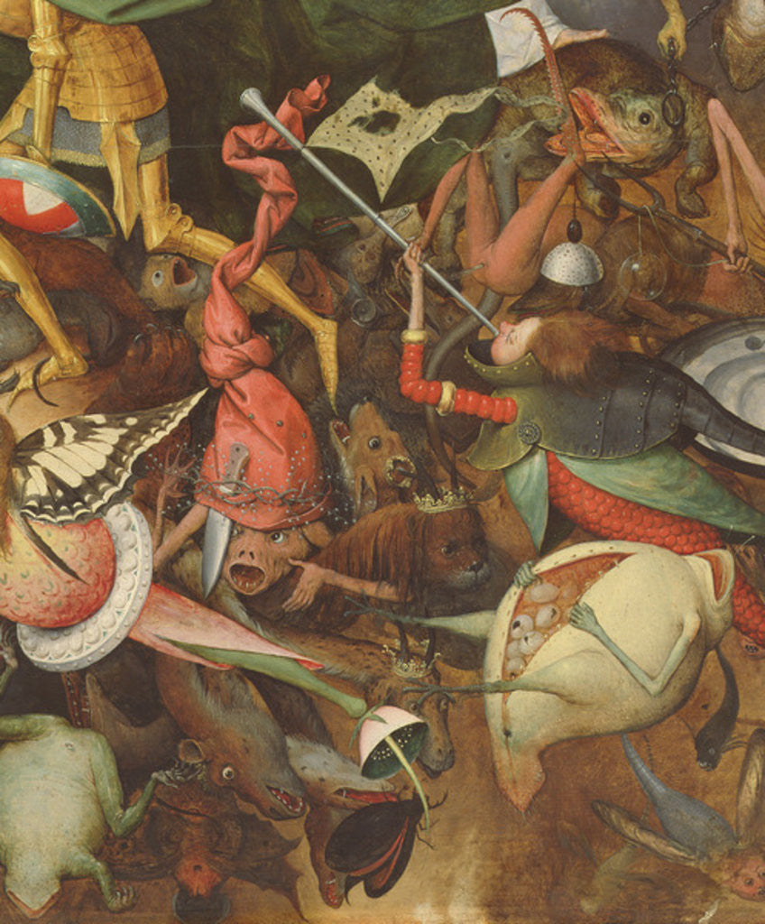 Detail of The Fall of the Rebel Angels by Pieter Bruegel the Elder