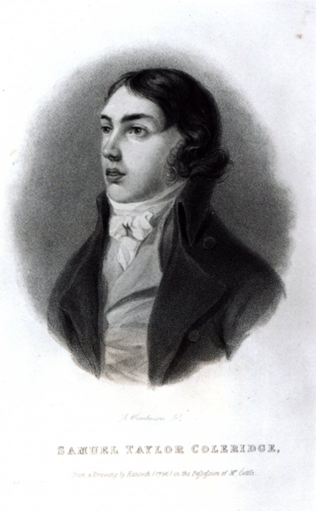 Portrait of Samuel Taylor Coleridge as a Young Man