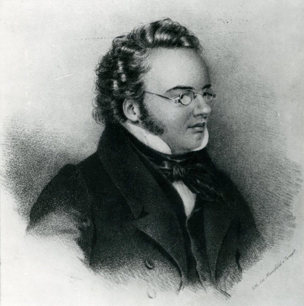 Detail of Portrait of Franz Schubert by Anonymous