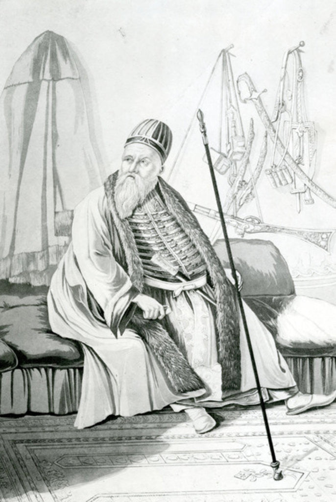 Detail of Ali Pasha of Tepelena or of Jannina by Joseph Cartwright