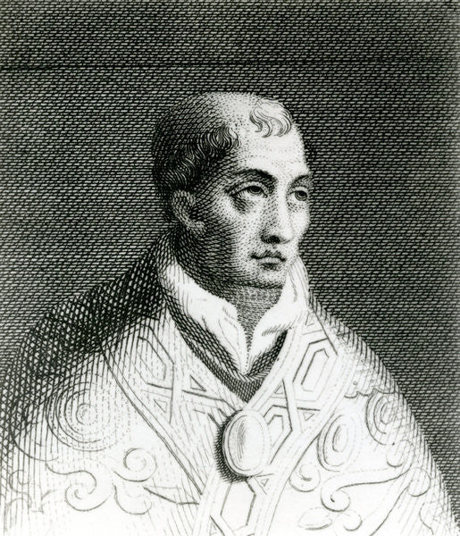 Detail of Pope John VIII by English School