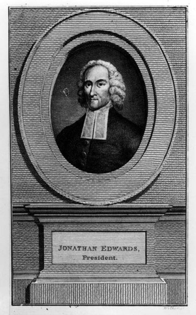 Detail of Jonathan Edwards by American School