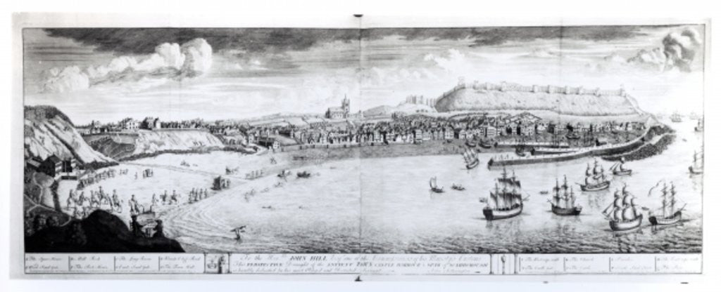Detail of View of Scarborough by English School