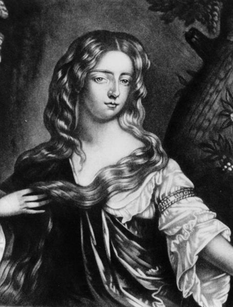 Detail of Isabella Duchess of Grafton by English School
