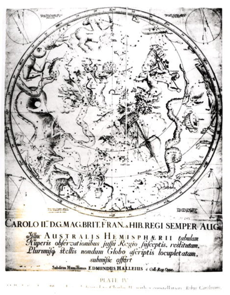 Detail of Constellations of the Southern Hemisphere by English School