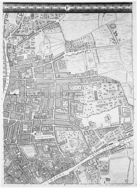 A Map Of Shoreditch And Whitechapel London Posters Prints By John