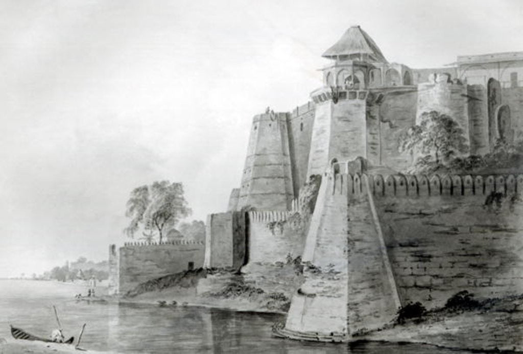 Fort on the Yamuna River, India by William Orme