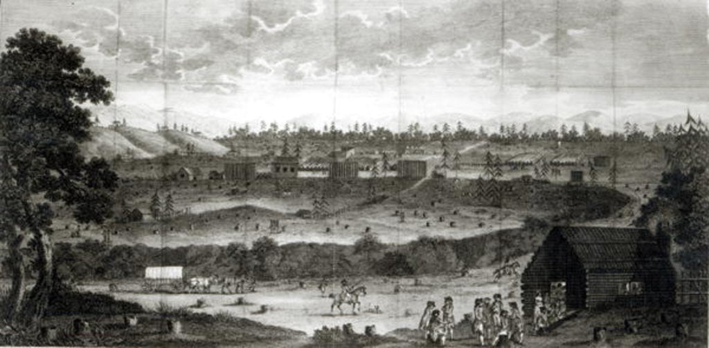 Detail of Encampment of the Convention Army by American School