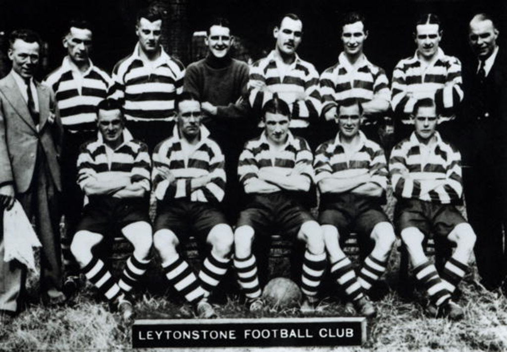 Detail of Leytonstone Football Club by English Photographer