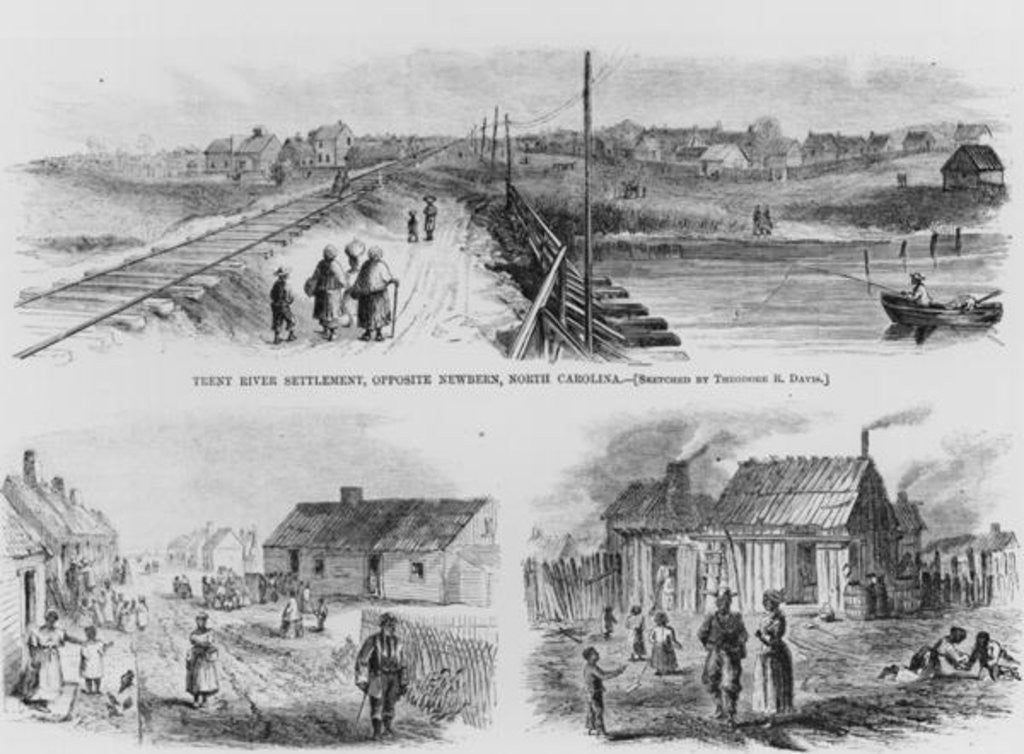 Detail of Trent River Settlement by Theodore Russell Davis