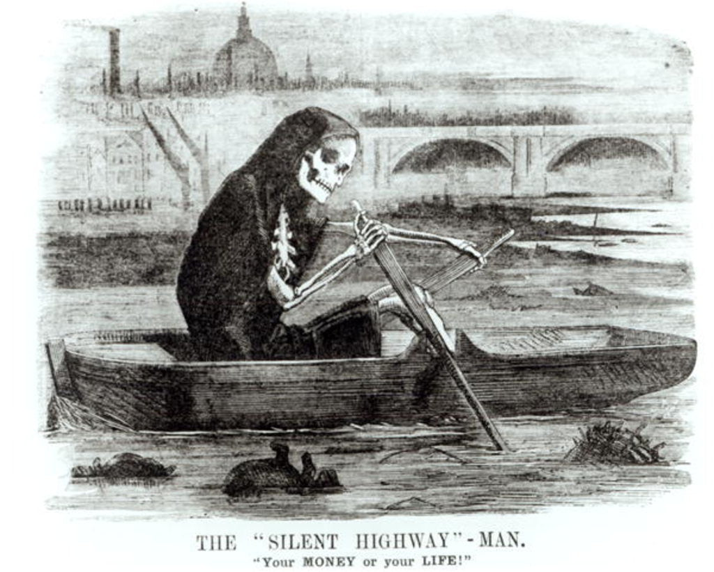 Detail of The Silent Highway Man by English School