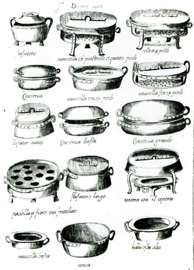 Detail of Various Cooking Vessels by Italian School