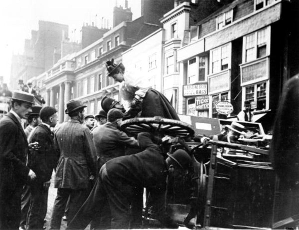 Detail of A Street Accident by English Photographer