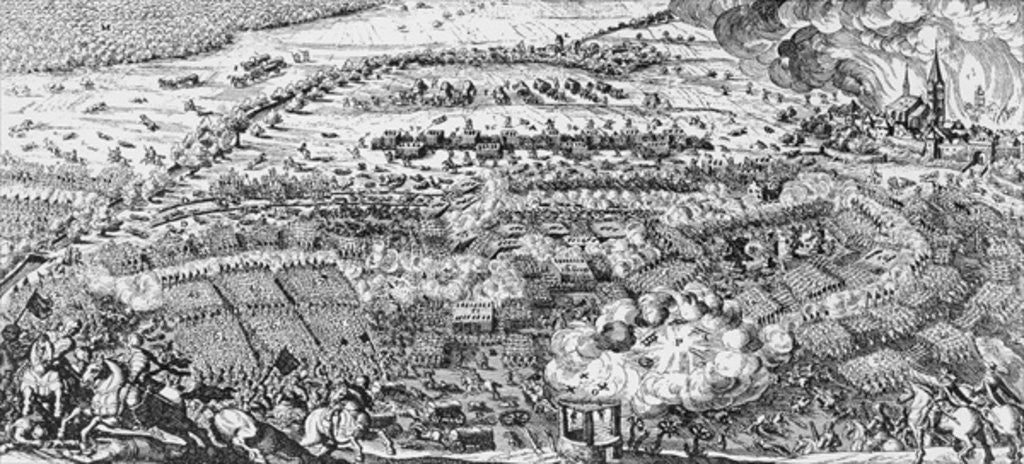 The Swedish victory at the Battle of Lutzen