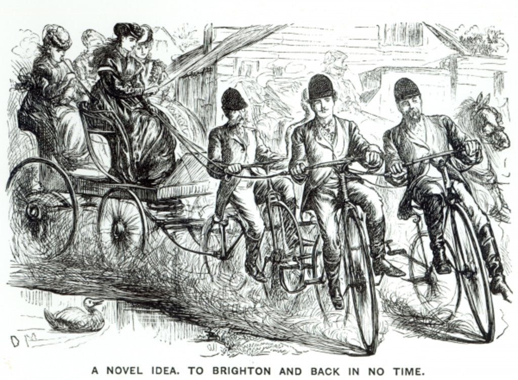 Detail of A New way to travel to Brighton by English School