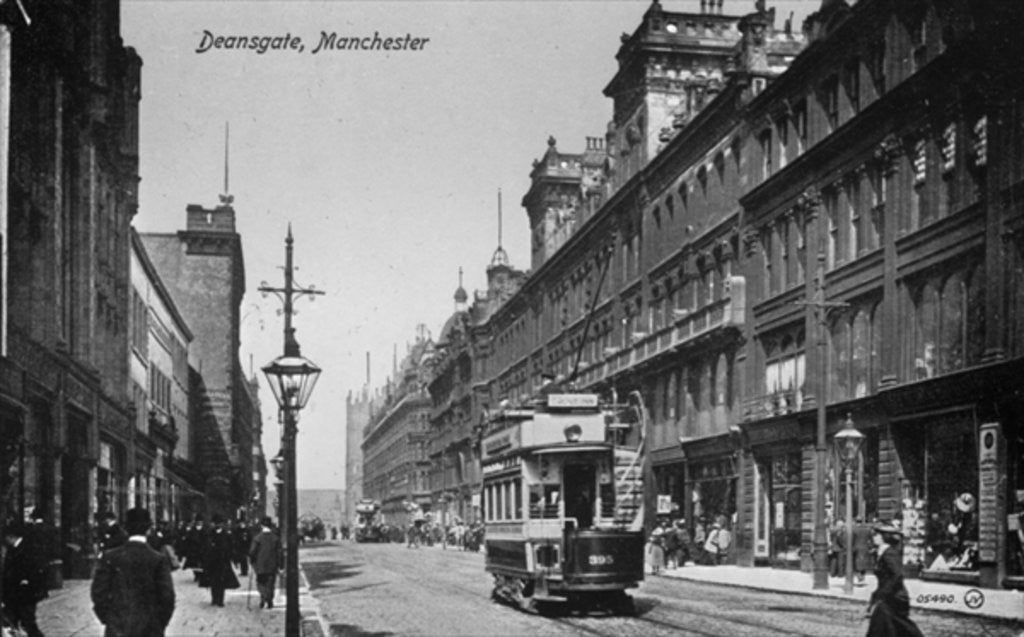 Detail of Deansgate, Manchester by English Photographer