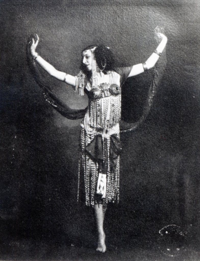 Detail of Ida Rubinstein in the role of Salome by French Photographer