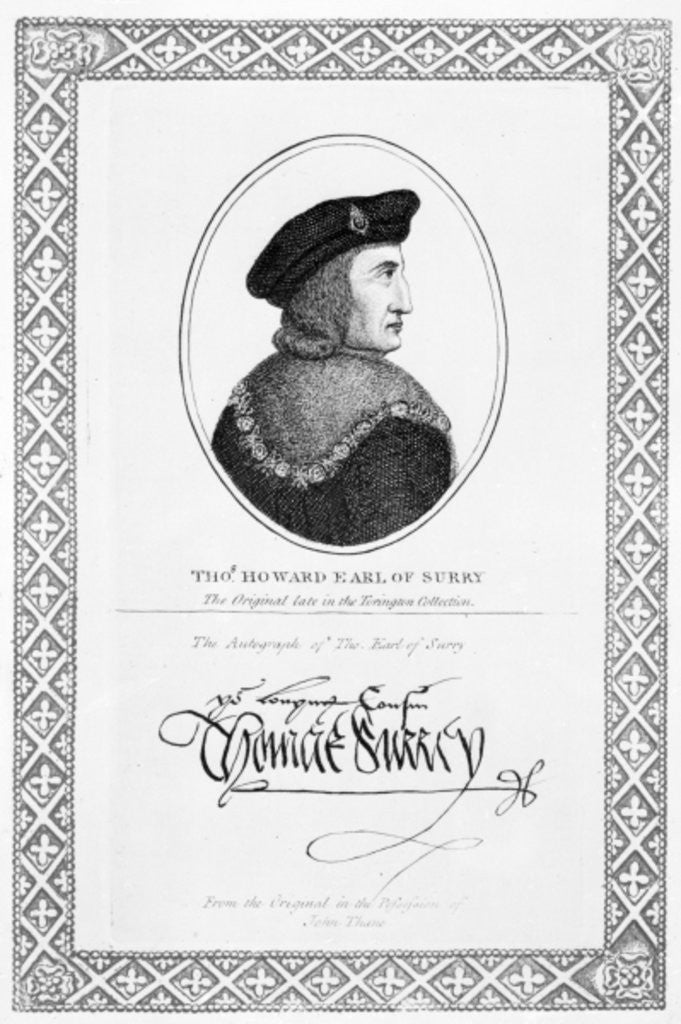 Thomas Howard, Earl of Surrey and 2nd Duke of Norfolk by English School
