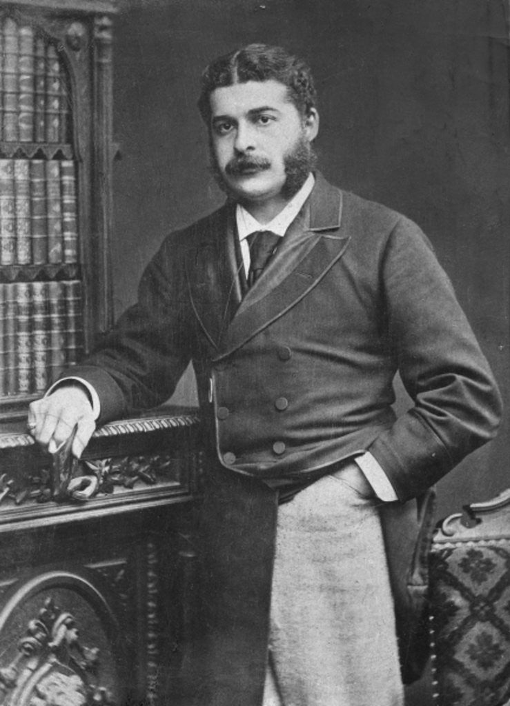 Detail of Sir Arthur Sullivan by English Photographer