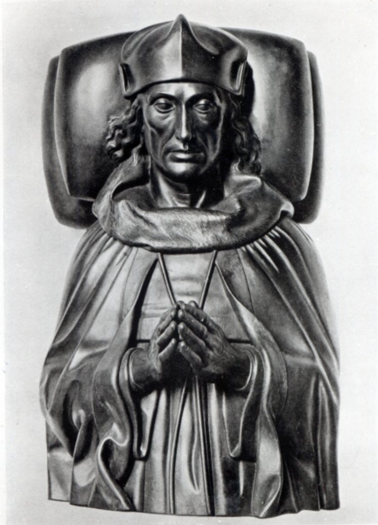 Detail of Effigy of Henry VII in Westminster Abbey by Pietro Torrigiano