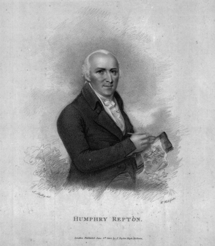 Detail of Humphry Repton by Samuel Shelley