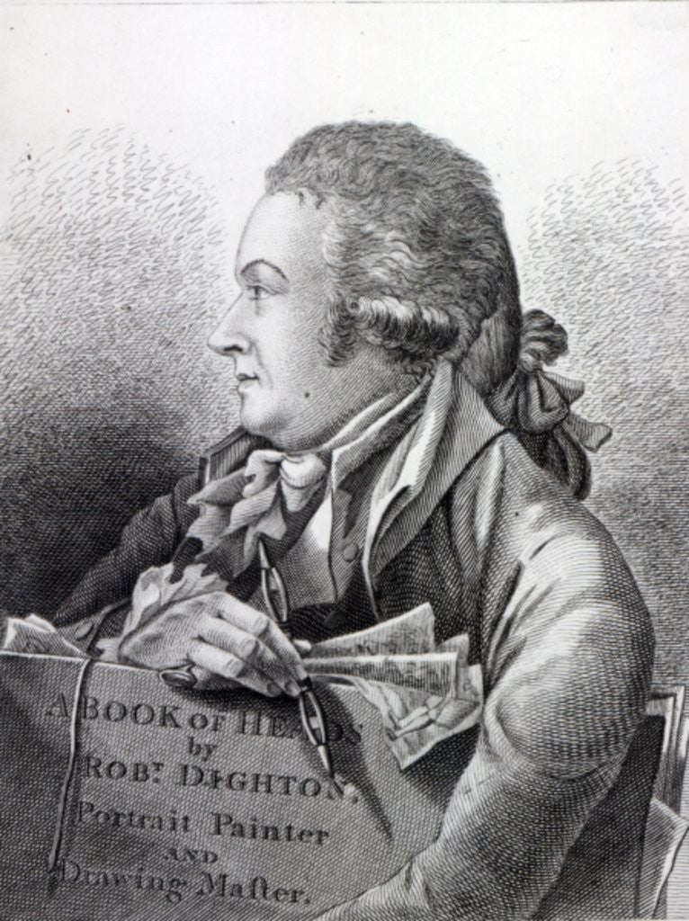 Self Portrait, frontispiece to his 'Book of Heads'