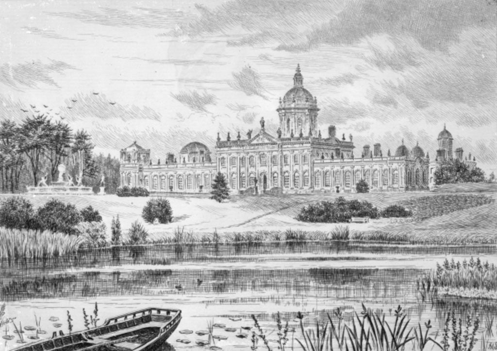 Detail of Castle Howard by English School