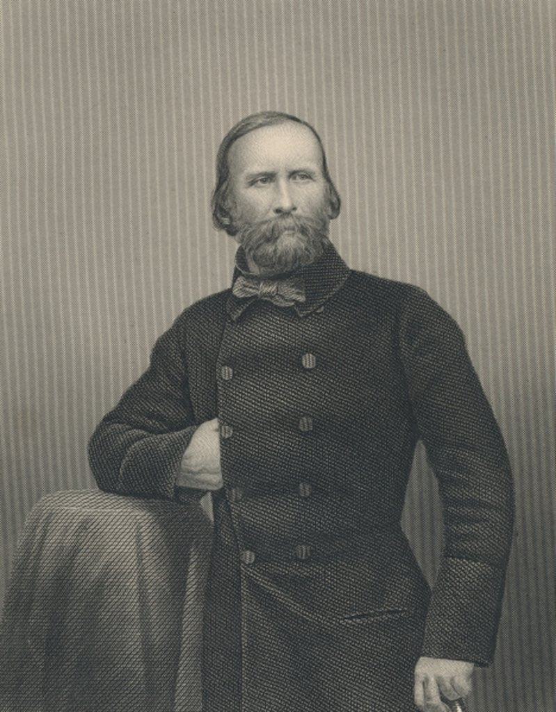 Detail of Giuseppe Garibaldi by Italian Photographer