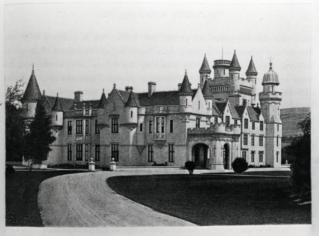 Detail of Balmoral Castle by English School
