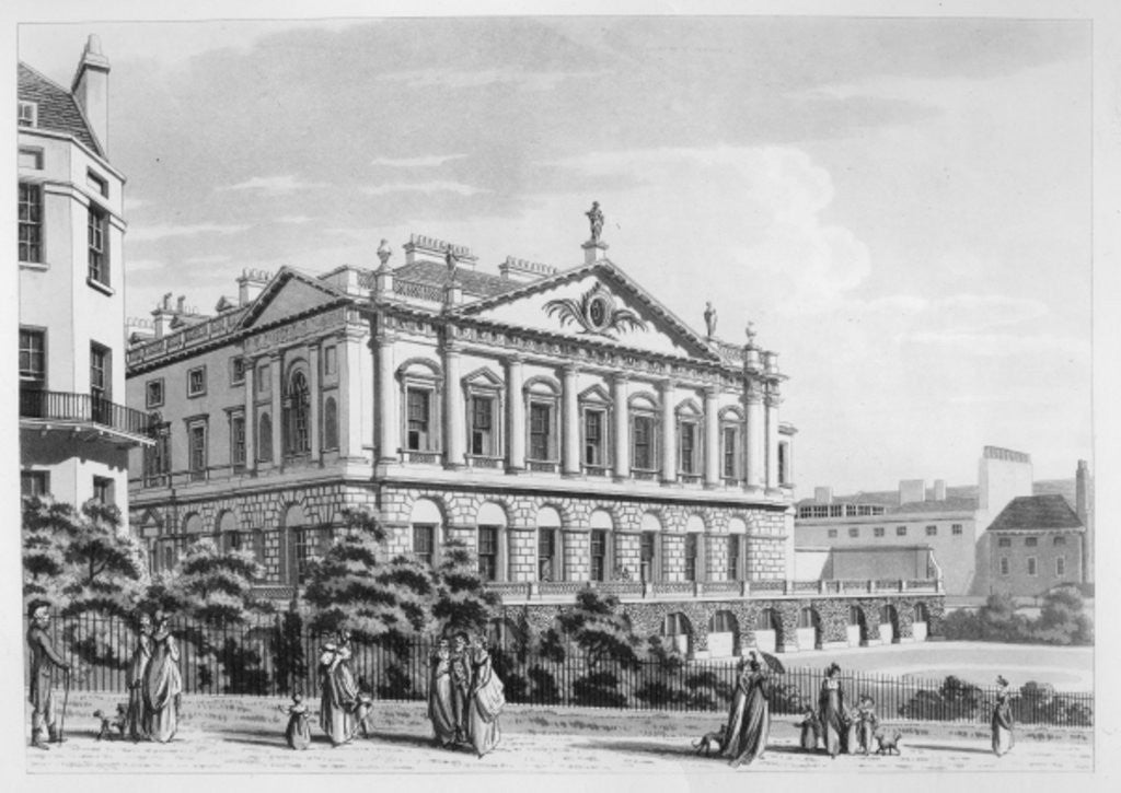 Detail of Spencer House by English School