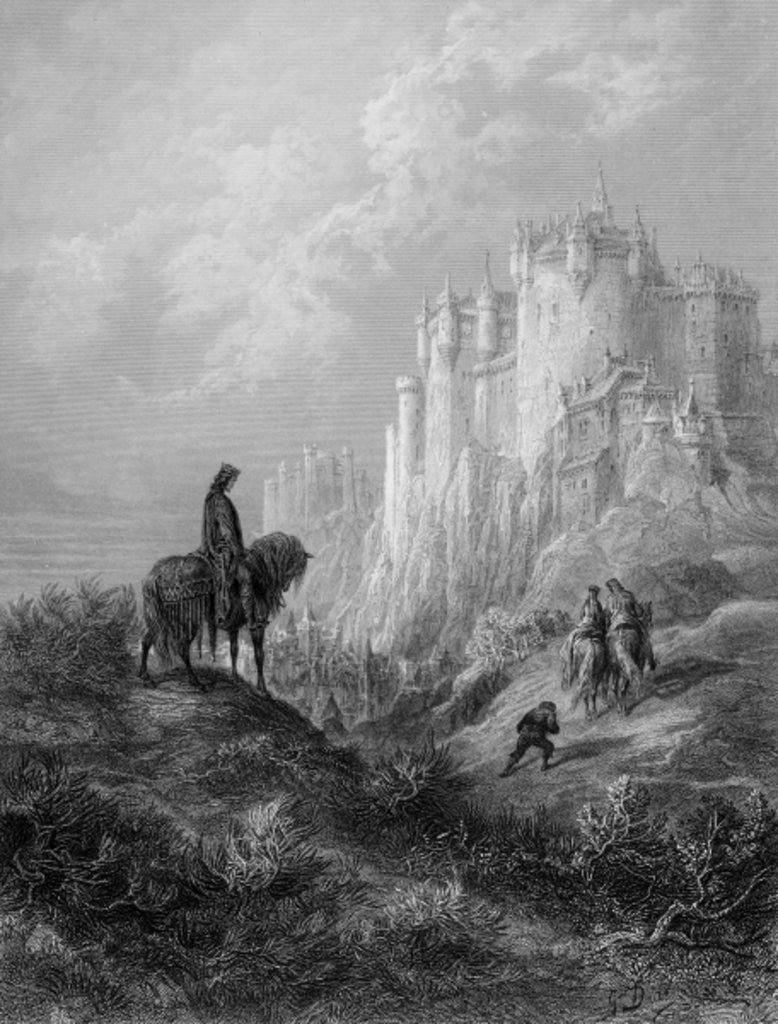 Detail of Camelot by Gustave Dore