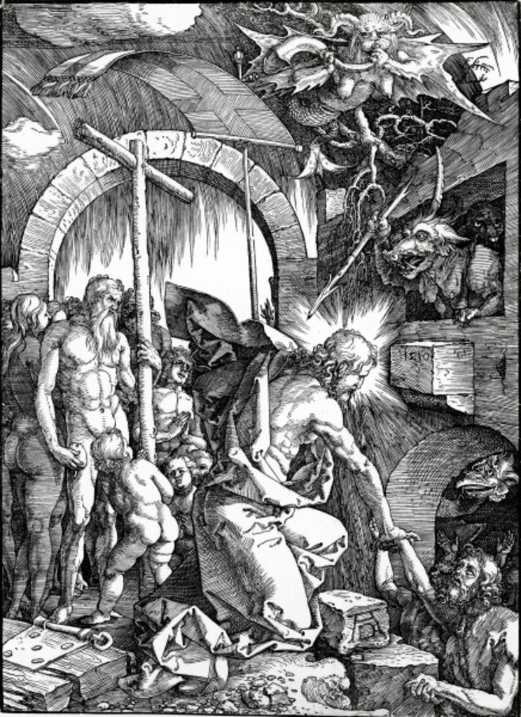Christ's Descent into Limbo by Albrecht Dürer or Duerer