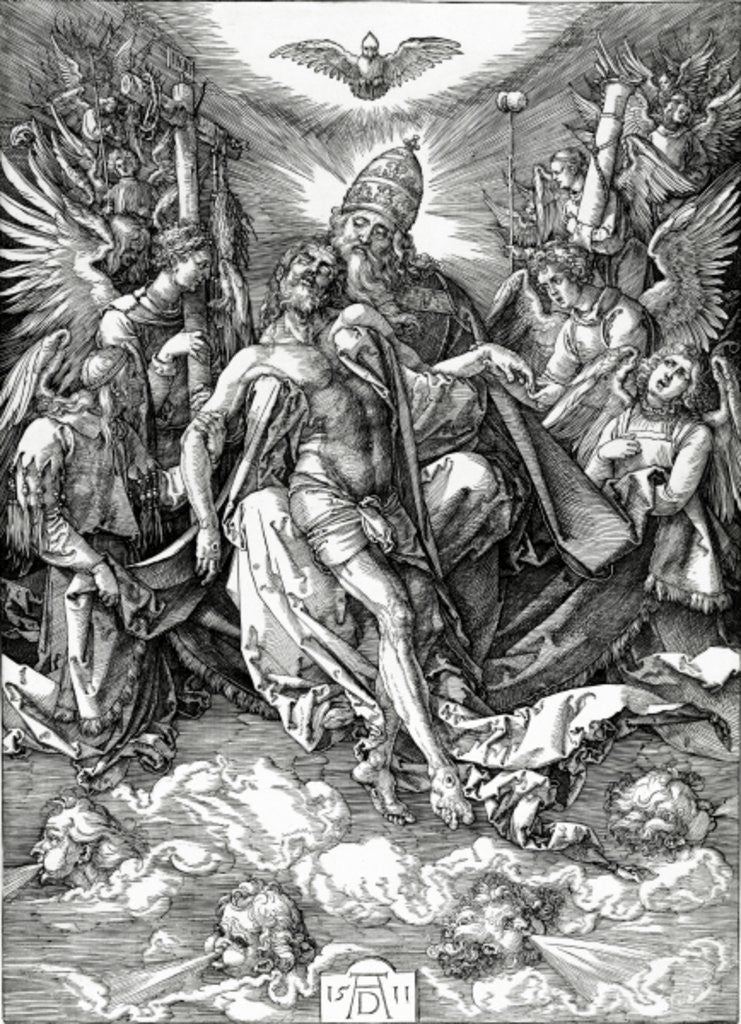 The Holy Trinity by Albrecht Dürer or Duerer