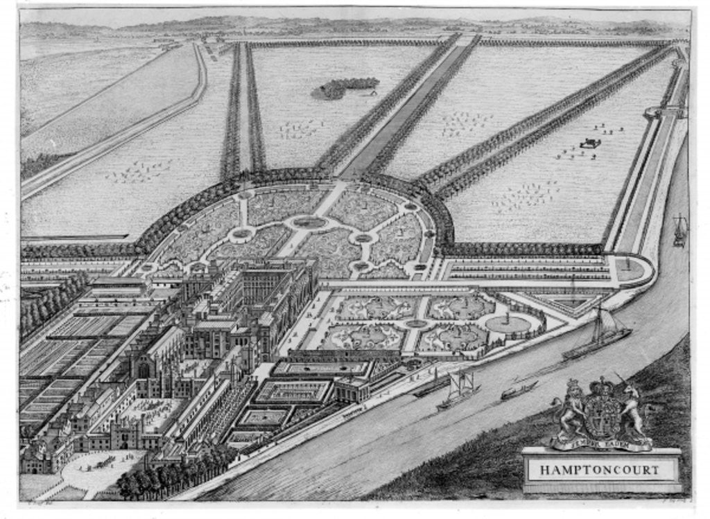 Hampton Court Palace by John Bowles