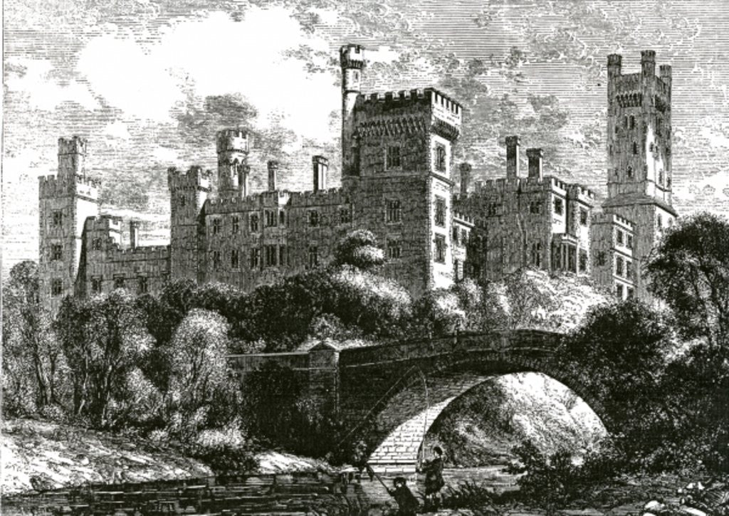 Detail of Lismore Castle by English School