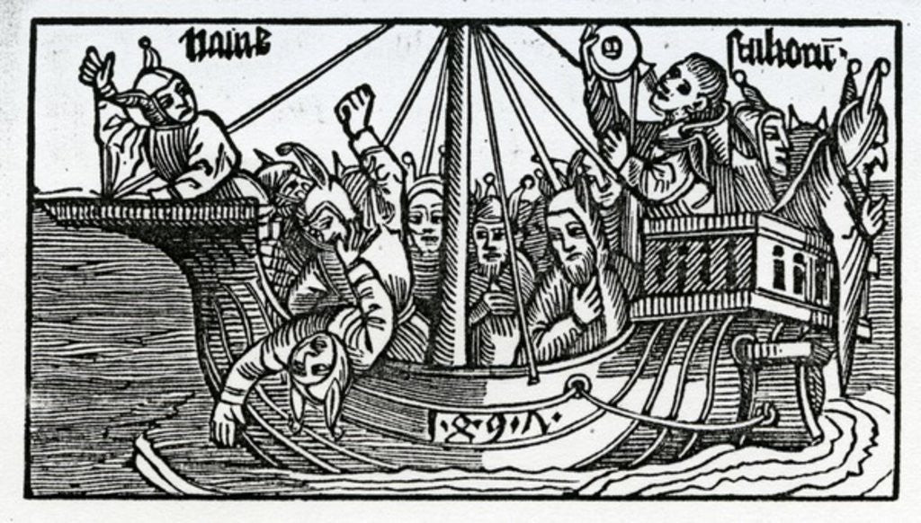 Detail of Frontispiece to the English translation of Sebastian Brandt's 'The Ship of Fools' by German School