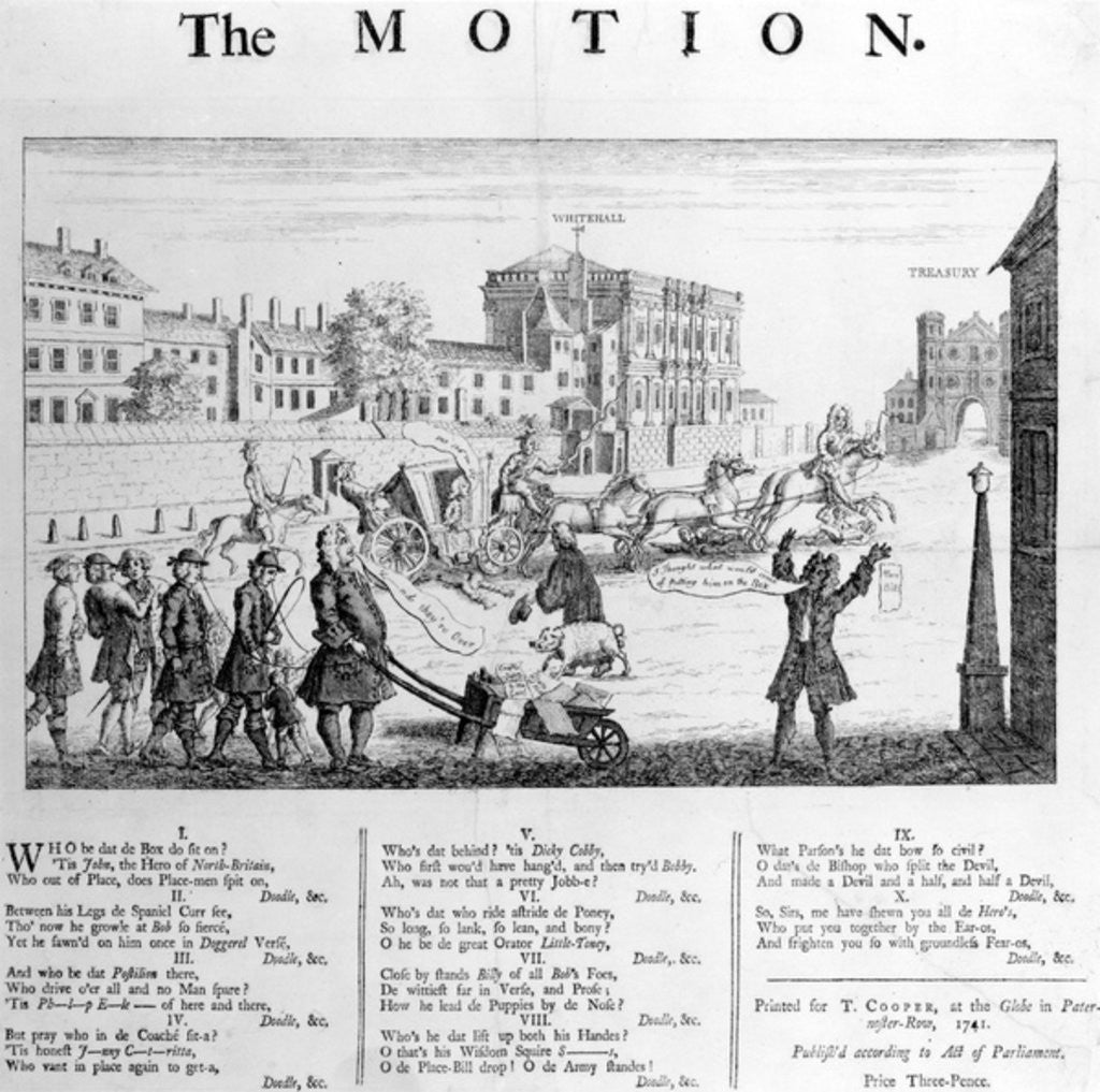 Detail of The Motion by English School