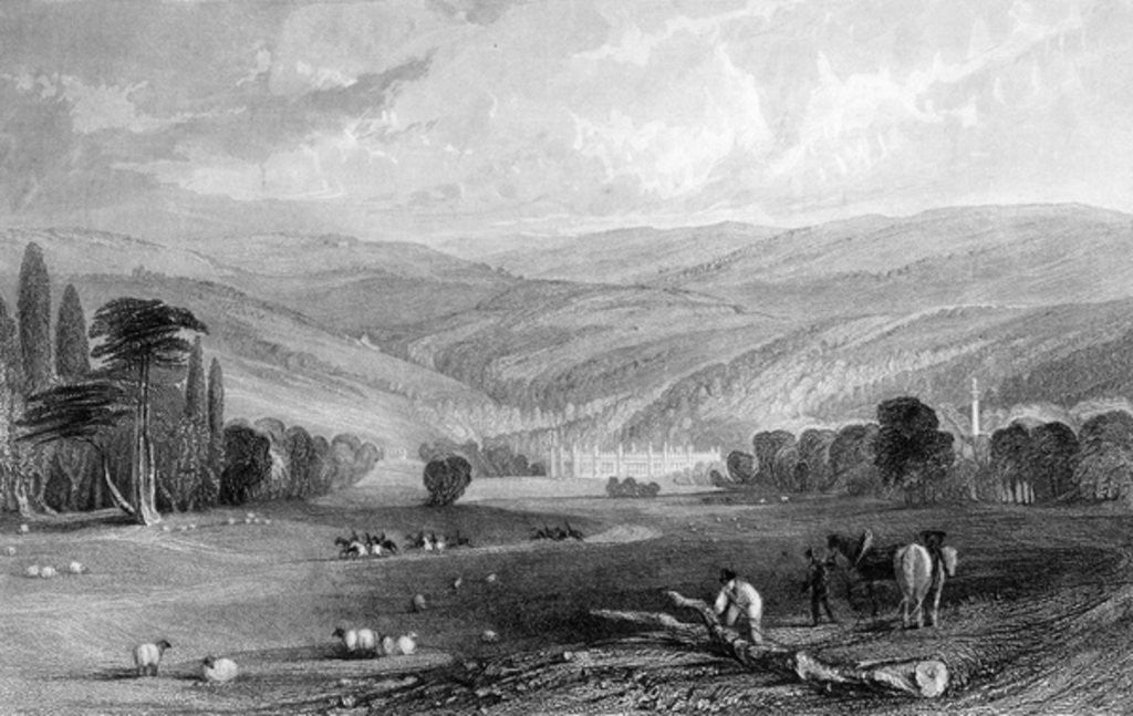 Detail of Gibside, County of Durham by English School