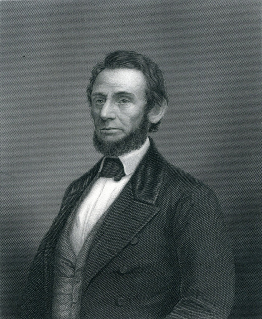 Detail of Abraham Lincoln by English School