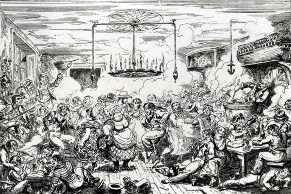 Sailors carousing, or a peep in the Long Room