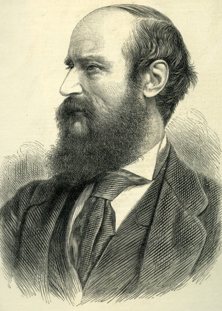 John Bagnold Burgess from 'The Illustrated London News' 14th July by English School