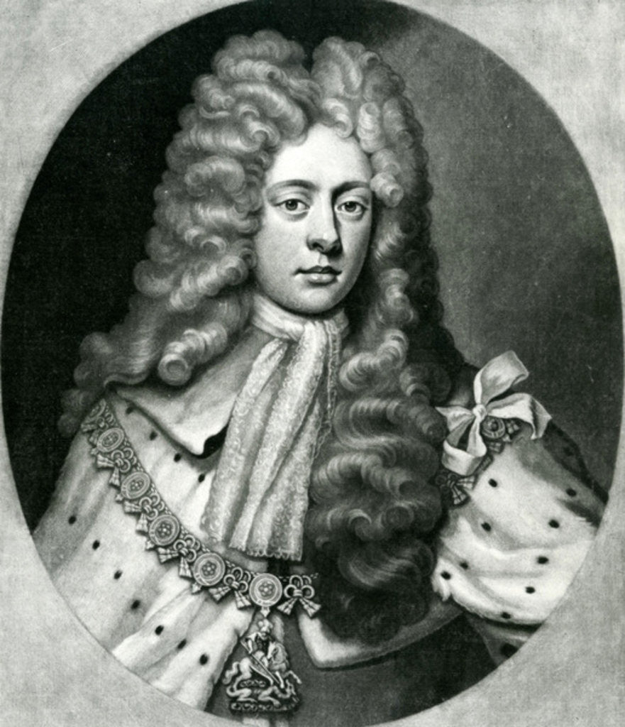 Detail of John Campbell, 2nd Duke of Argyll, 1st Duke of Greenwich by English School