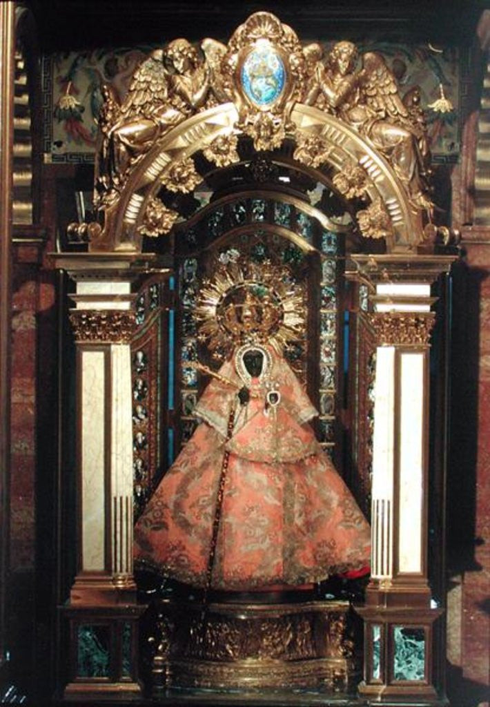 Detail of The Guadalupe Madonna by Spanish School