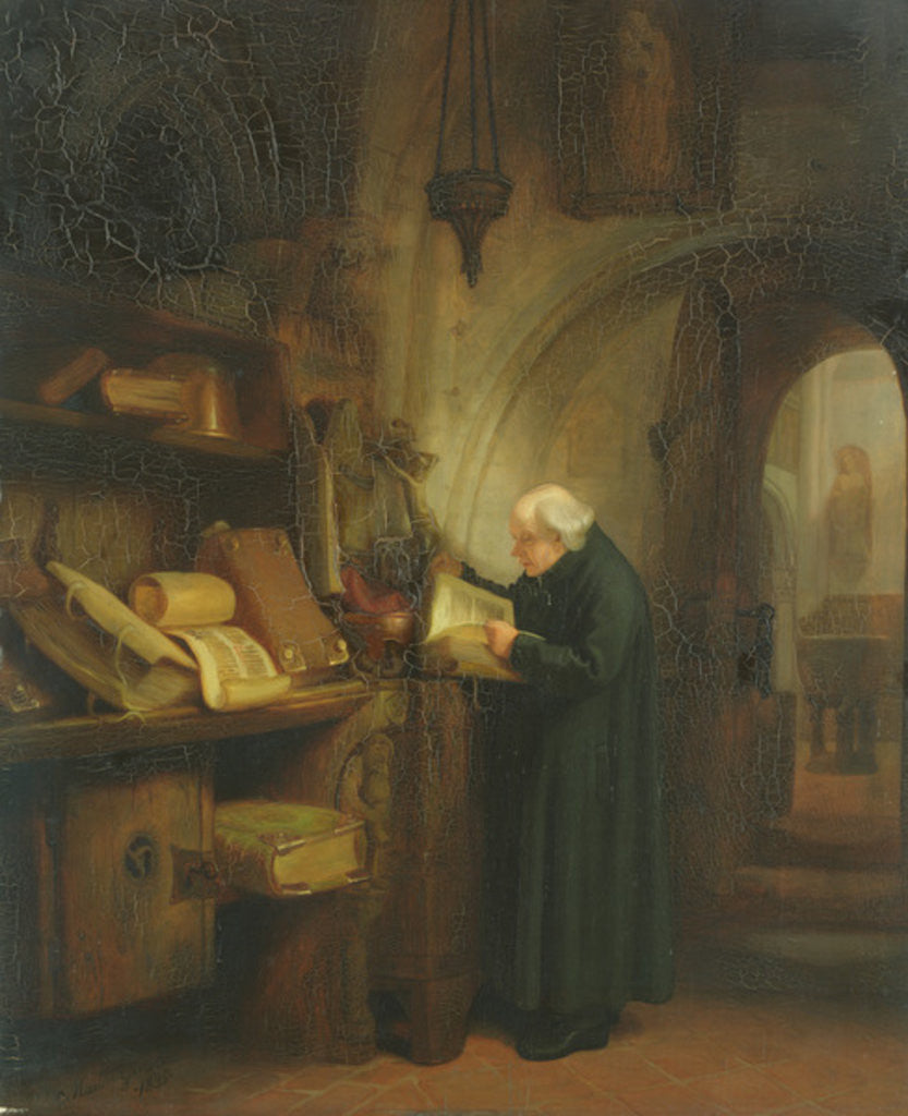 Detail of The Vestry by Jacob Gensler