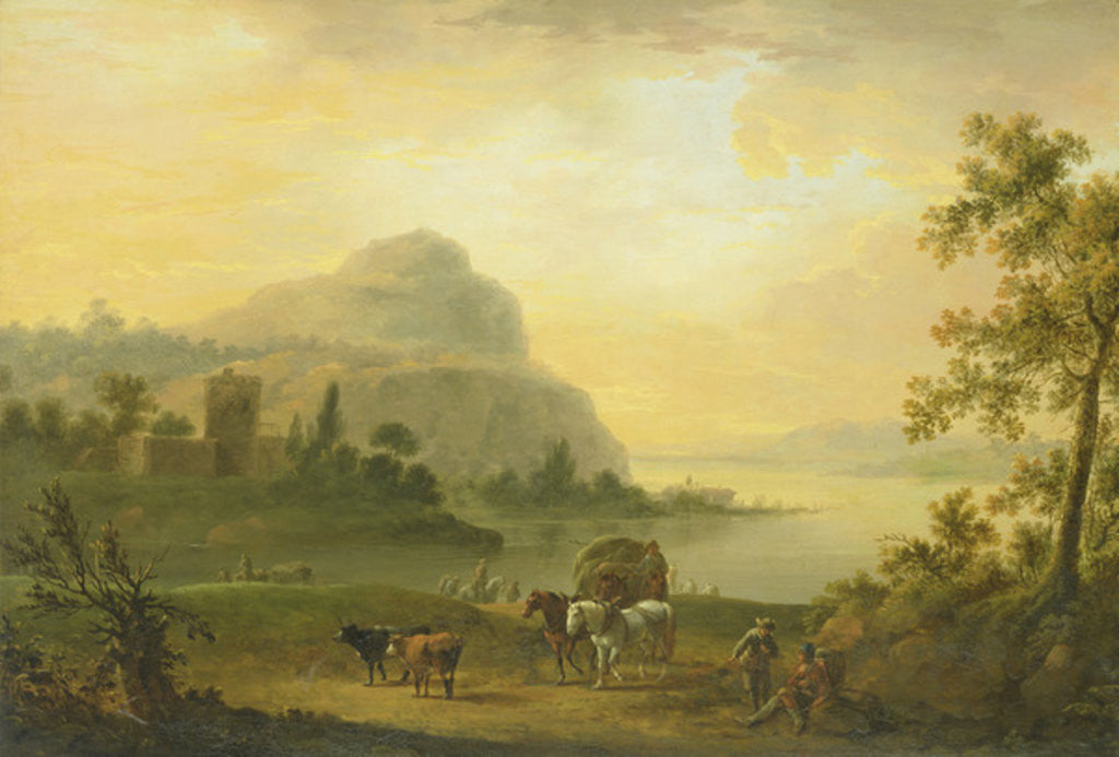 Detail of The Morning by Johann Jacob Tischbein