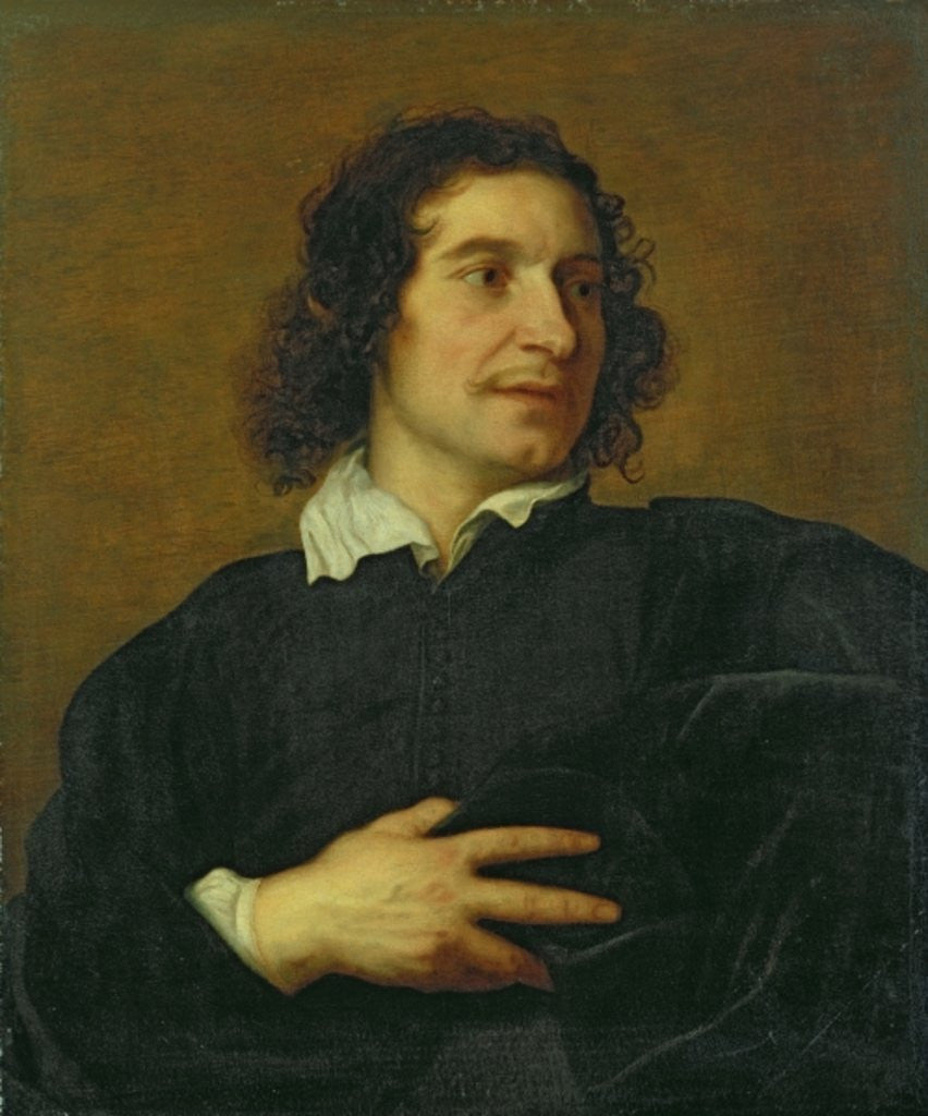 Detail of Portrait of a Man by Lucas the Younger Franchoys