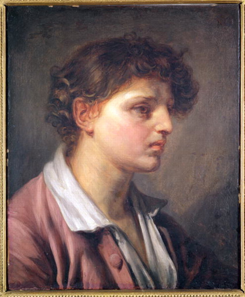 Portrait of a Young Man by Jean Baptiste Greuze
