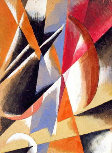 Detail of Composition by Lyubov Sergeevna Popova